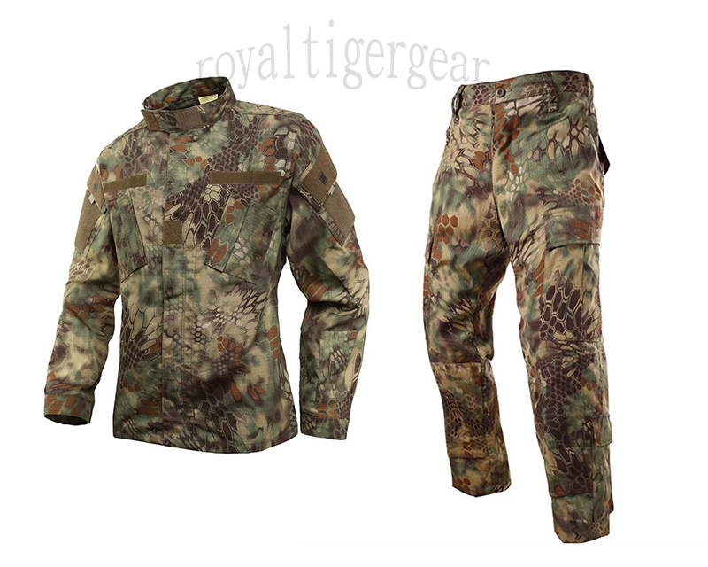 Snake Kryptek Python Camo Shirt Pants set – MR Woodland Mardarke