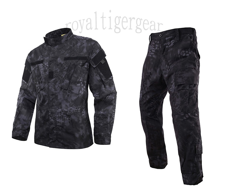 Snake Kryptek Python Camo Shirt Pants set – TYP Night Urban Marines Typhon