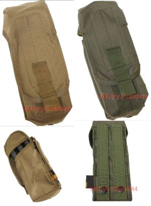 FLYYE Single AK Mag MOLLE Pouch for 3 Mag - A-TACS , A-TACS/FG