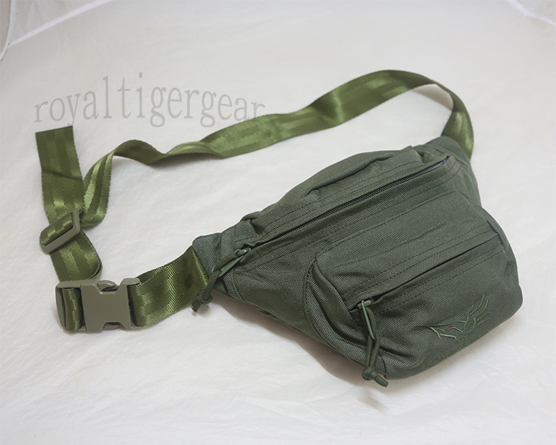 FLYYE Low-pitched Waist Pack with logo - Ranger Green