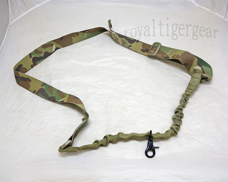 FLYYE Single Point SMG Rifle Sling - Multicam® / Multicam® Webbing
