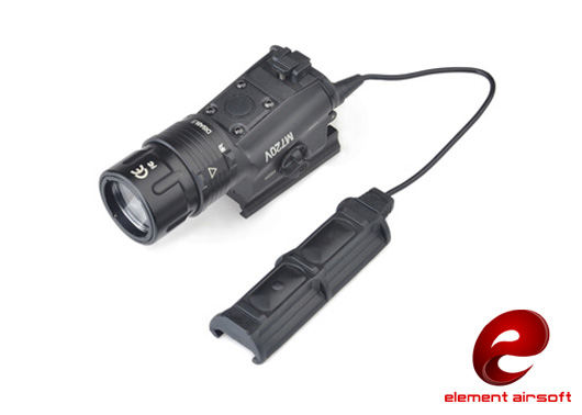 Element M720V Tactical Light (Light / Strobe Version) EX273 - Black