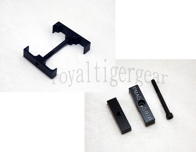 PMAG GRIP Magazine Aluminum Coupler for 5.56mm .223 PMAG 20/30 Round
