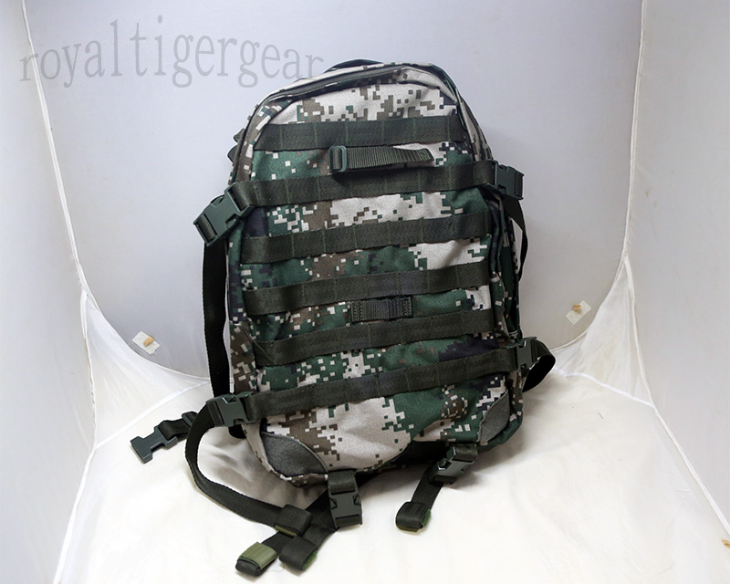 China PLA Type 07 Digital Universal Camo MOLLE Patrol Backpack - Ver.07A