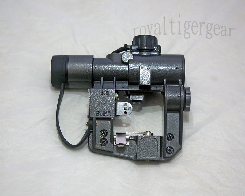 SVD 1x30 Red Dot Illuminated Sight Scope with Russia Mount