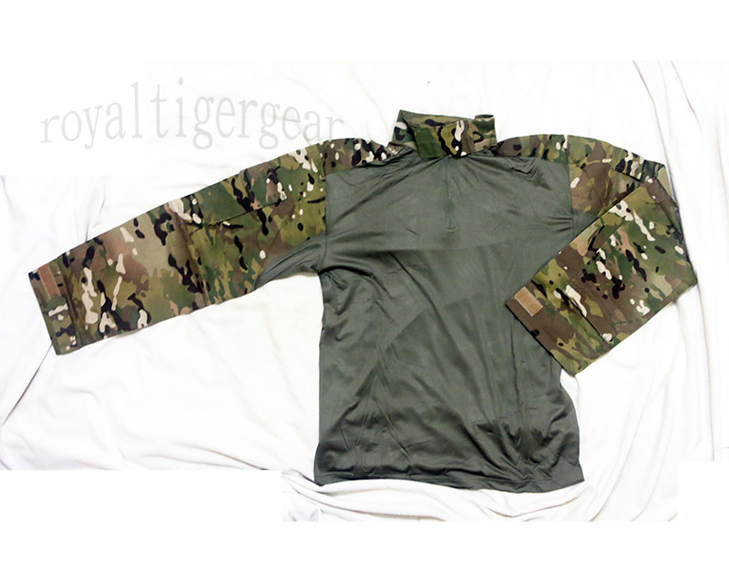 Multicam MC Combat Shirt - Long Sleeves