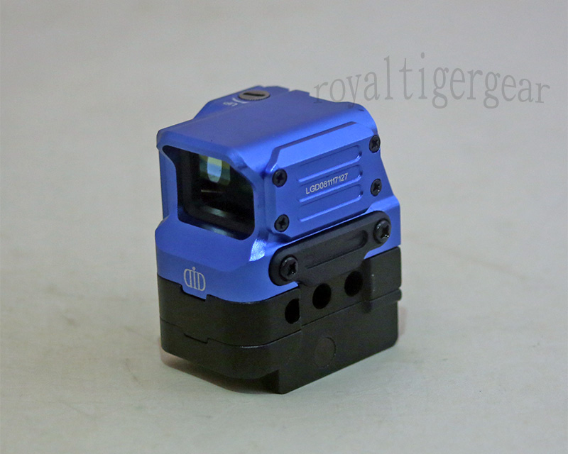 Di Optical FC1 Red Dot Holographic Sight w/ 2 Mounts - Blue