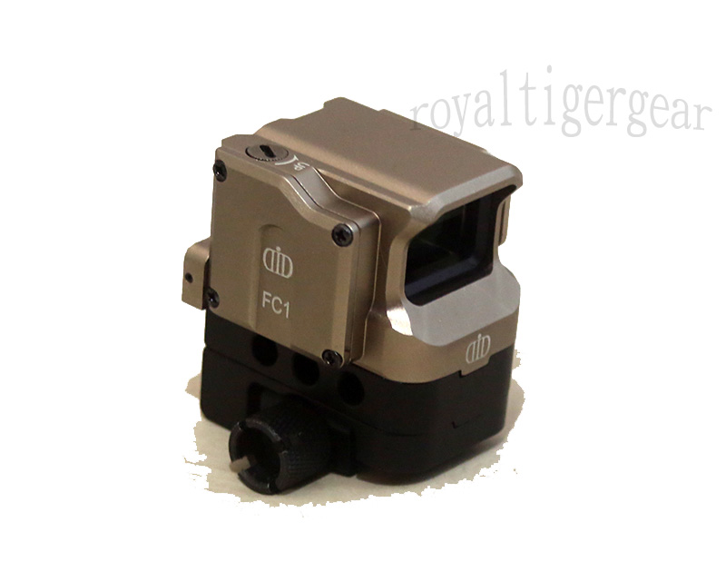 Di Optical FC1 Red Dot Holographic Sight w/ 2 Mounts - Dark Earth