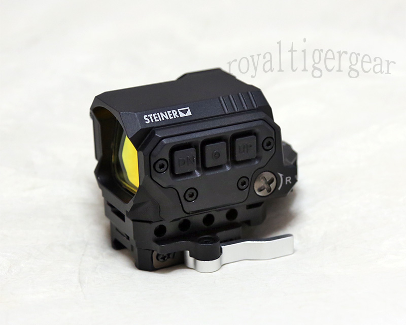 R1X Tactical Holographic Sight Red Dot Reflex Optics Sight - Black