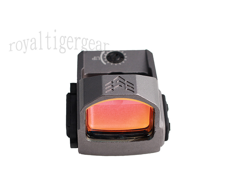 P2 Tactical Mini 1x22 Red Dot Sight Reflector with Mount RMR - Grey