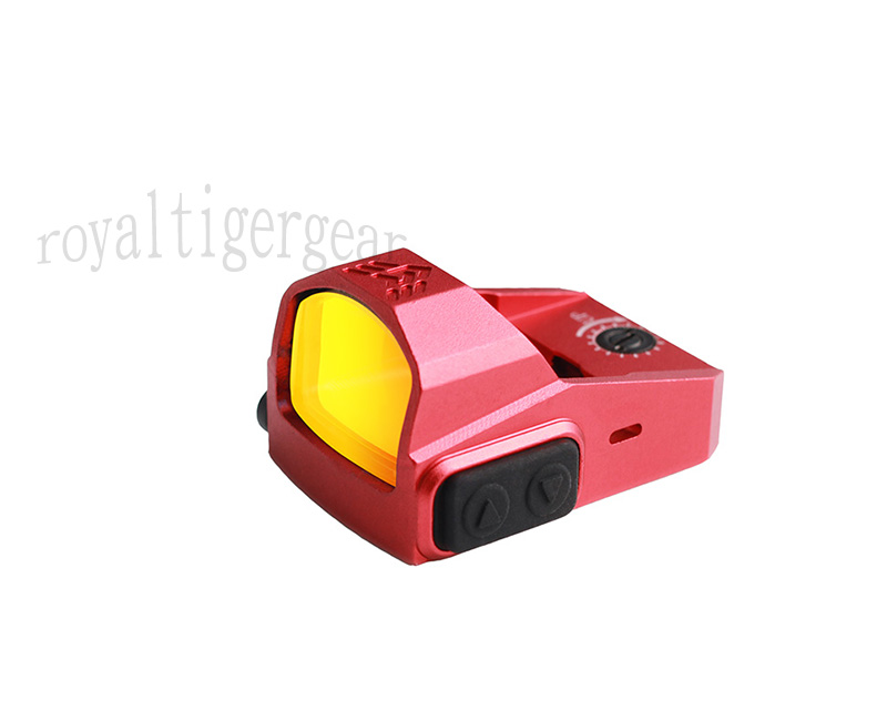 P2 Tactical Mini 1x22 Red Dot Sight Reflector with Mount RMR - Red