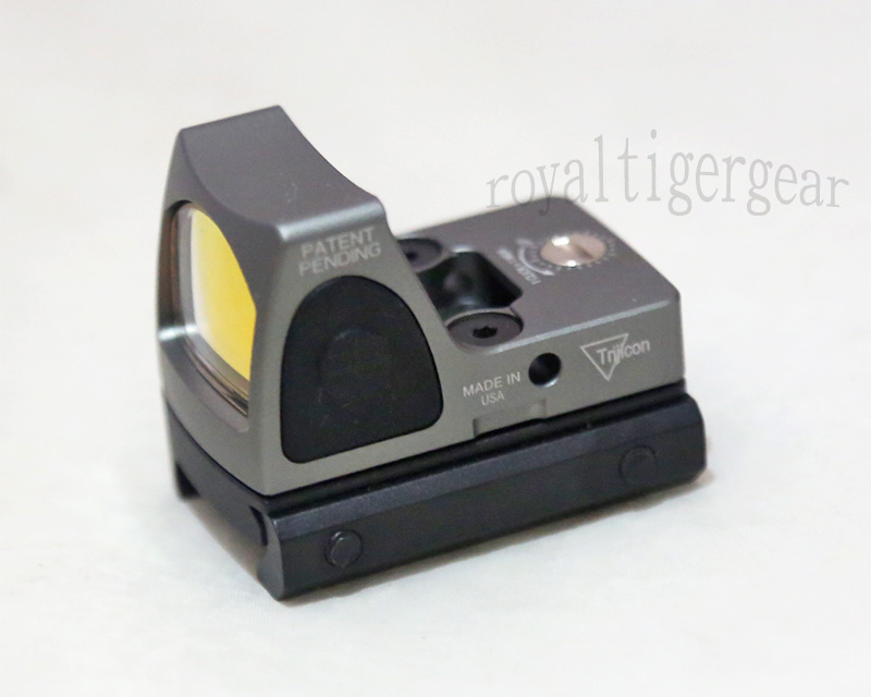 RMR style Red Dot Holographic Weapon Sight w/ 1913 / GLOCK Mount - Silver