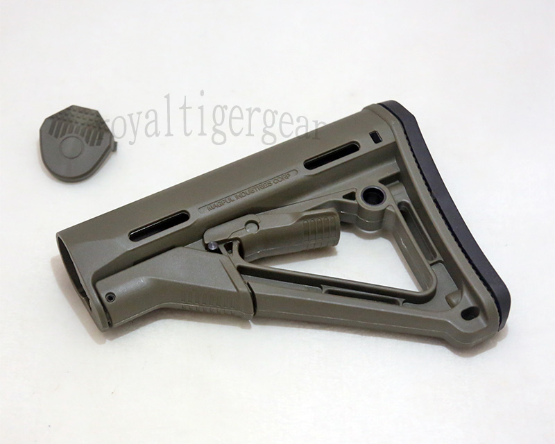 MAGPUL PTS CTR Stock - Fragile Green