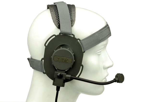 Z-TACTICAL zBowman Evo III Field Headset – For Left / Right side - Grey